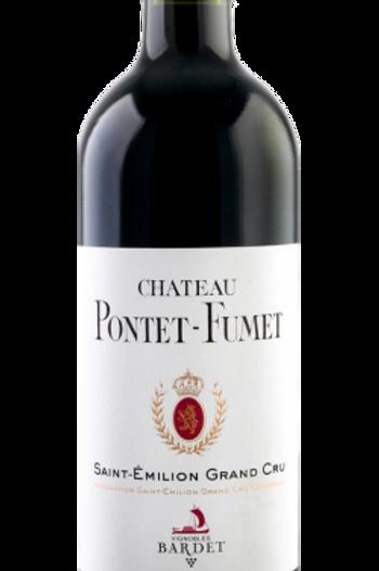 CHÂTEAU PONTET-FUMET SAINT-EMILION GRAND CRU, ROUGE, 2014 (1* HACHETTE)  • 6bts