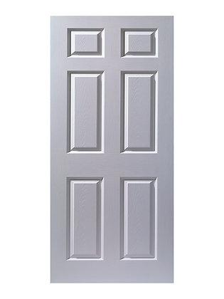 Puerta Entamborada 6 P. Blanca