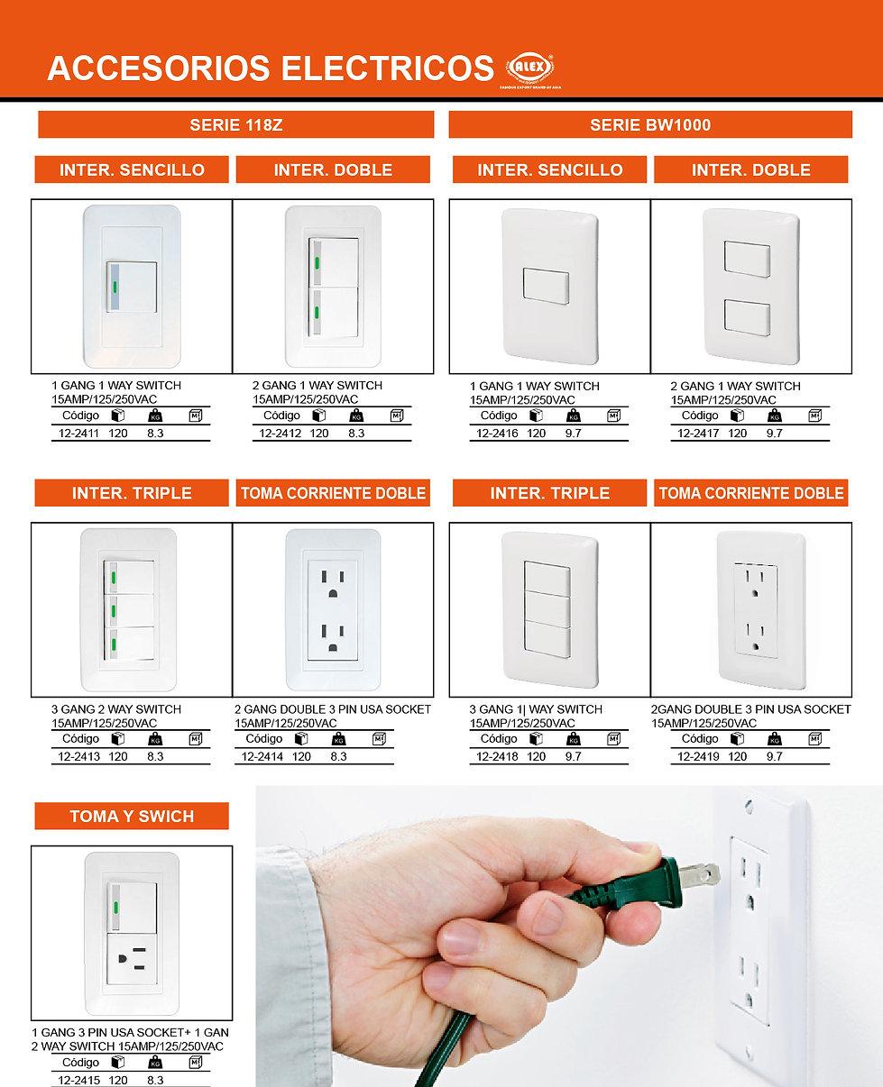 1.1 Catalogo Electricidad by EDWIN CENTE
