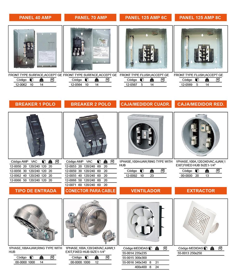 1.2 Catalogo Electricidad by EDWIN CENTE