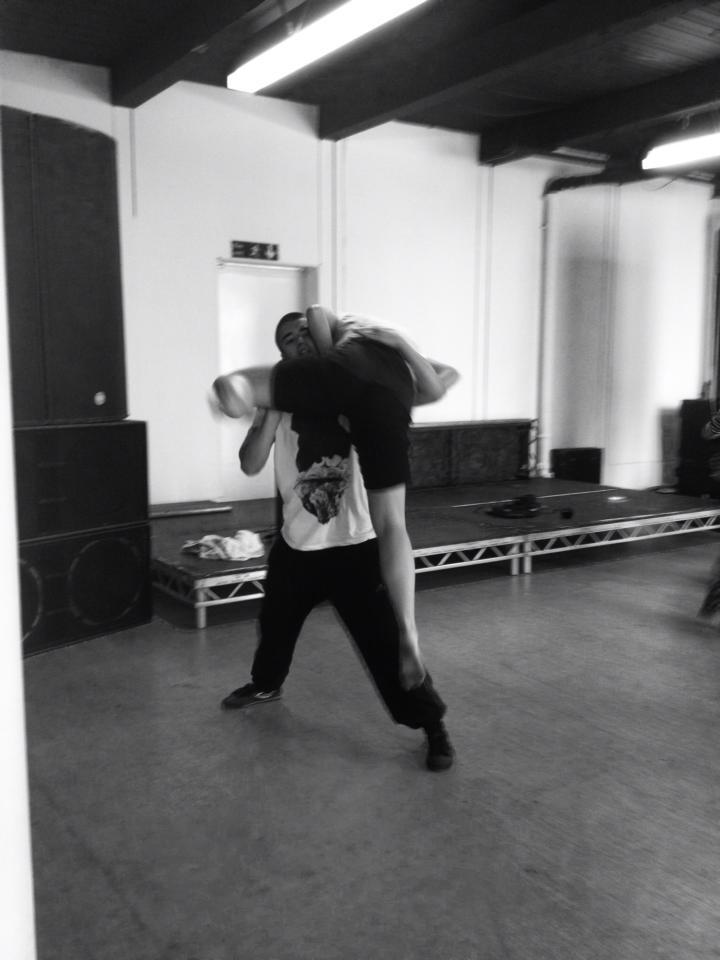 Graduates Rehearse w/ Stuart Waters