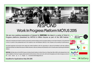 RESPOND: Work In Progress Call Out