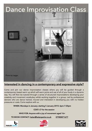 Dance Improvisation Class