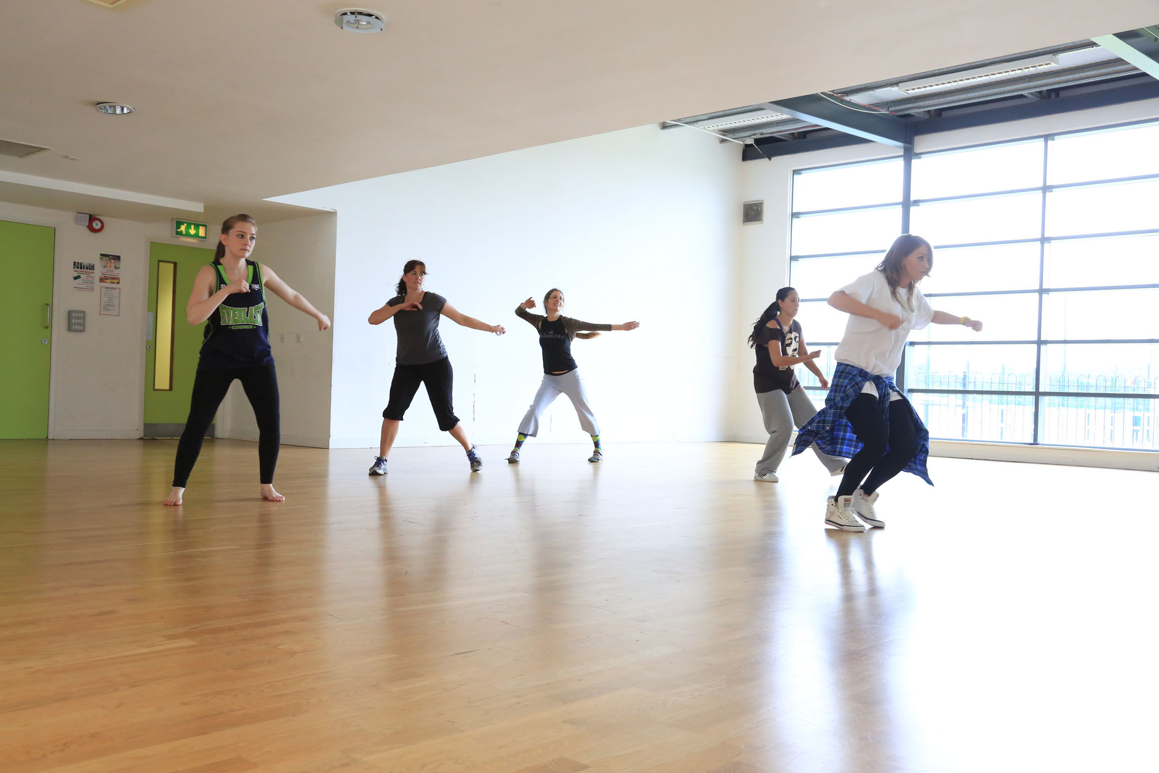 Sam Jenkins Street Dance Class