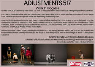 Adjustments 517: Tickets Now Available