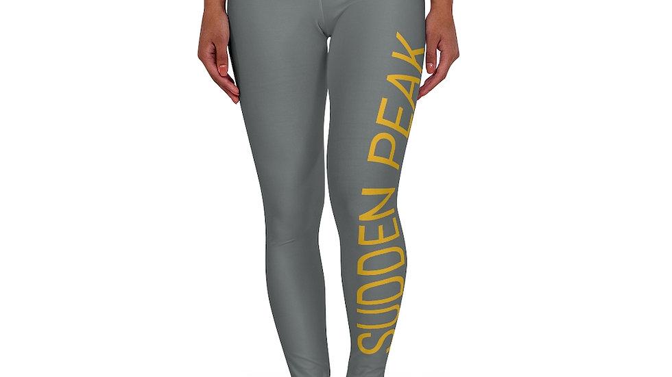 Grey High Waisted Yoga Leggings