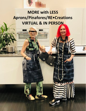MORE with LESS - Aprons/Pinafores/RE•Creations - IN PERSON
