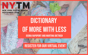 Dictionary of More With Less: NYTM 2020