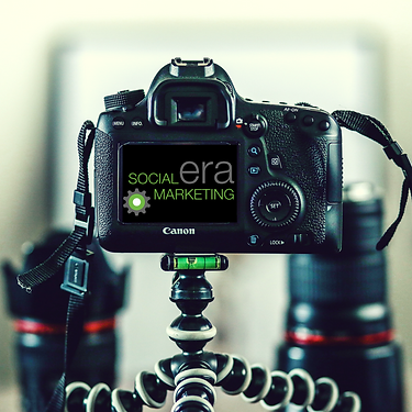 Social Era Marketing, digital camera, social media photography, content creation, content design