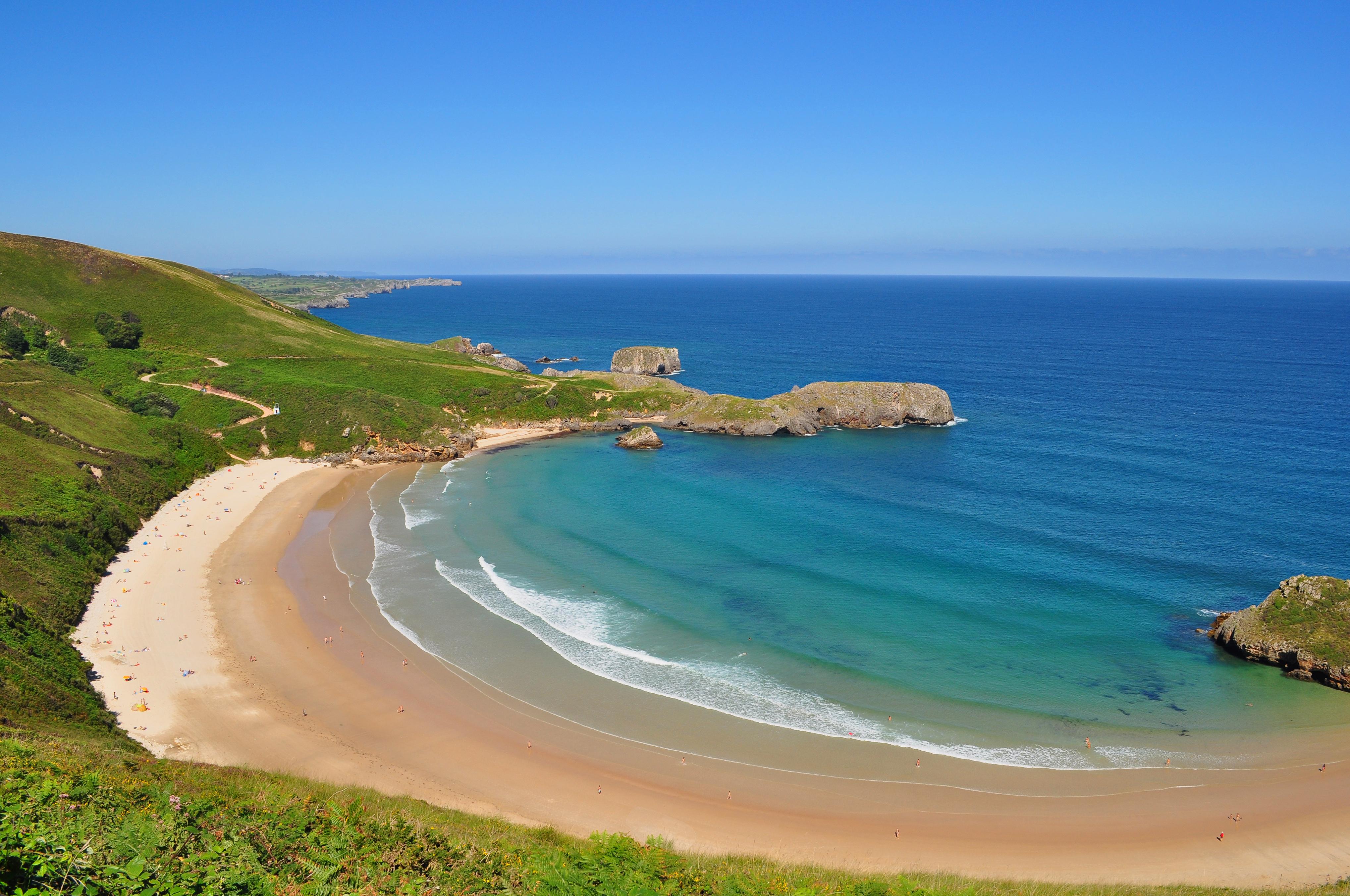 Playa de Torimbia 13 km