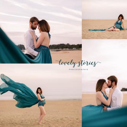 Séance grossesse | Lovely Stories Photographie | Baud, Morbihan, Bretagne