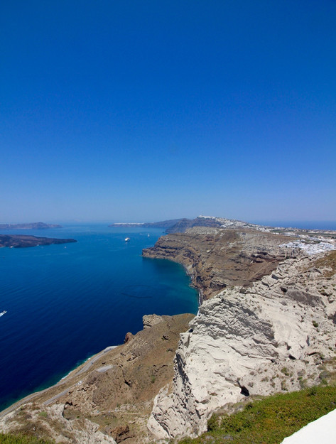 Amazing views of the Cyclades, in Greece