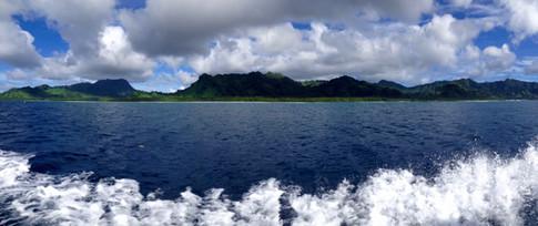 Island paradise - the beautiful island of Kosrae, in the Federated States of Micronesia