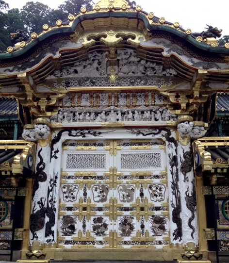 Intricate and historic buildings honor the burial site of one of Japan's greatest rulers in the Nikko shrine
