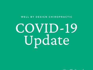 COVID-19 Prevention at Well By Design Chiropractic