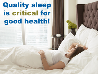 Sleep well for better health