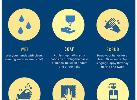COVID-19: Practice Good Hand Hygiene