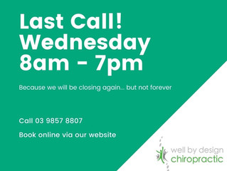 Last call.. but not the last hurrah