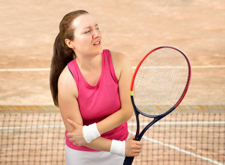 Beating Tennis Elbow...game, set and match!