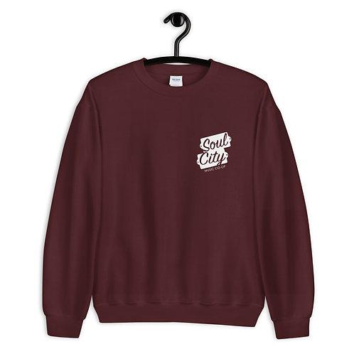 Soul City Music Co-op (#007) - Maroon Unisex Sweatshirt