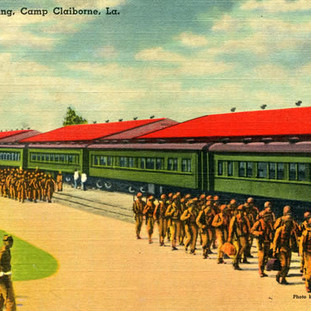 Troops arriving at Camp Claiborne.jpg