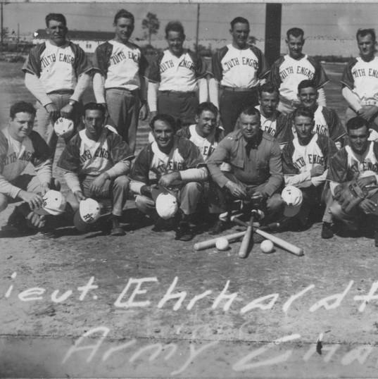 Camp Claiborne Baseball Team
