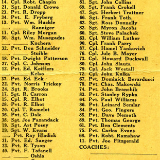 Football Game Roster