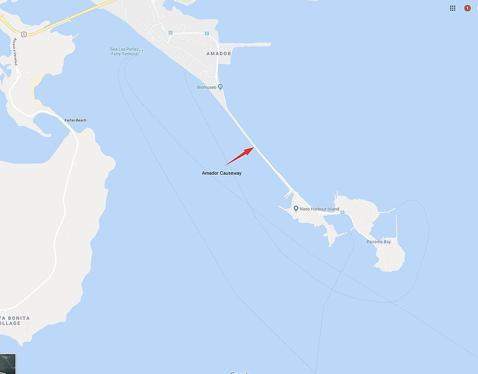 Ocean Panama Canal vacation Panama City, Panama Amador Causeway Naos Harbour Island AirBnB
