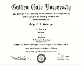 Masters in Information Technology