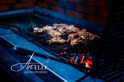 Мясо на открытом огне