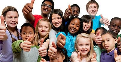 Group of Kids Thumbs Up.jpg