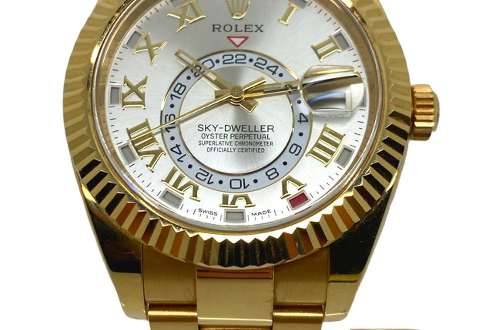 Rolex Sky-Dweller 18kt Yellow Gold