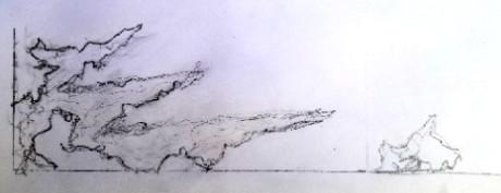aquascape drawing