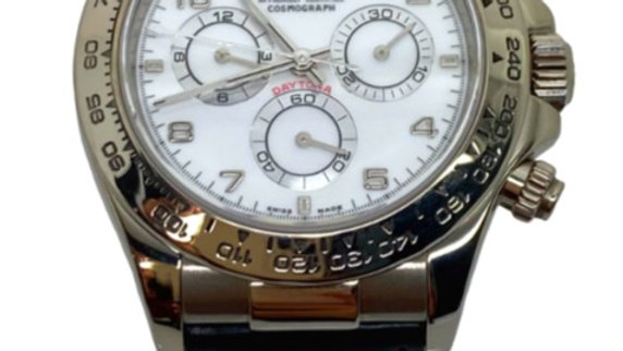 Rolex Daytona 116519 Men's White Gold 40mm Automatic