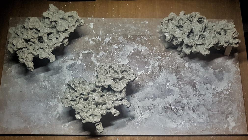 Aarons Aquarium - Ceramic Rock Aquascape