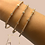 Thumbnail: Snake Style Bangle Rose Gold