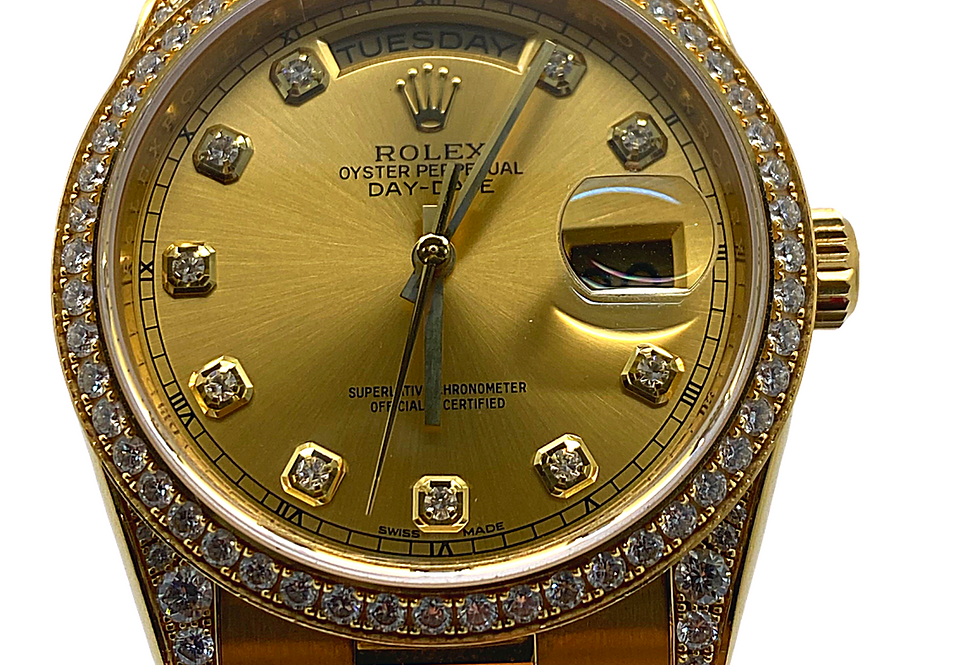 Day-Date 36mm Presidential 18kt Yellow Gold