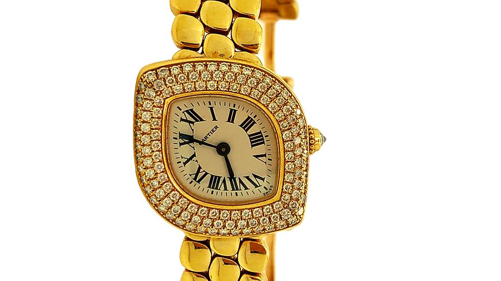 Ladies Cartier 18Kt Yellow Gold