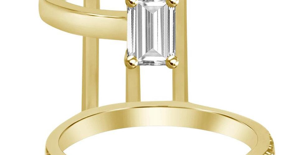 DIAMOND 2 COW RING