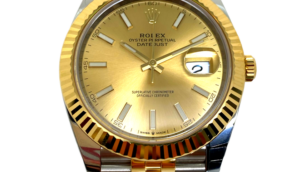 Rolex DateJust II 41mm Two Tone
