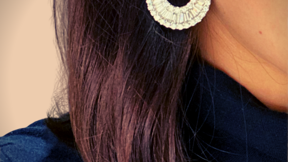 Diamond Earrings White Gold