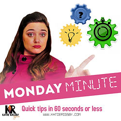 Monday Minute-Katie Rigsby