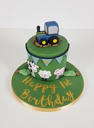 1st Birthday - Farmyard Cake
