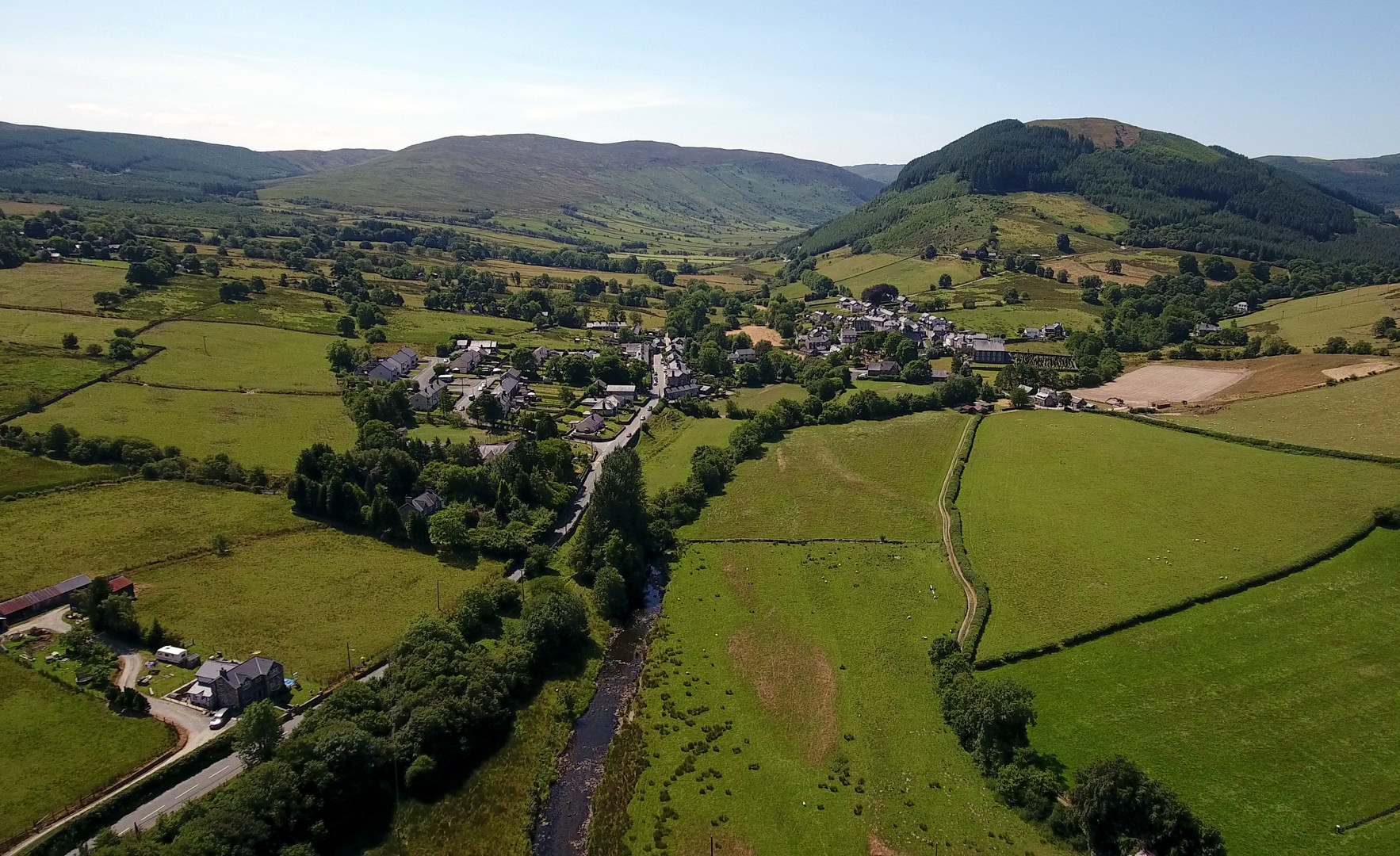 Welsh village