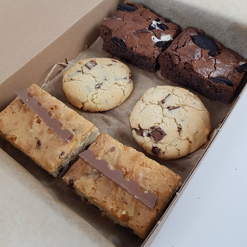 Brookie Box (Brownies, Blondies and Cookies)