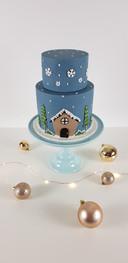 Celebration Cake - Winter Theme