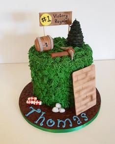 Birthday Cake - Fortnite Theme