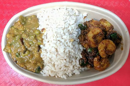 Shrimp Curry Meal