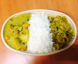 Vegetable Curry Dish $ 8.50
