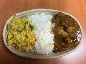 Chicken Curry Meal $9.00